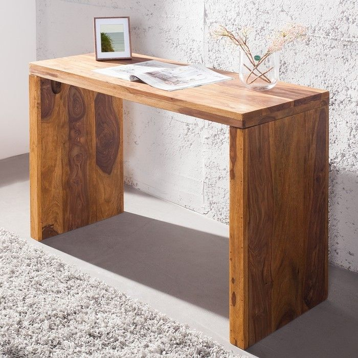schreibtisch satna sheesham massiv holz gewachst 100cm portofrei kaufen cag onlineshop. Black Bedroom Furniture Sets. Home Design Ideas