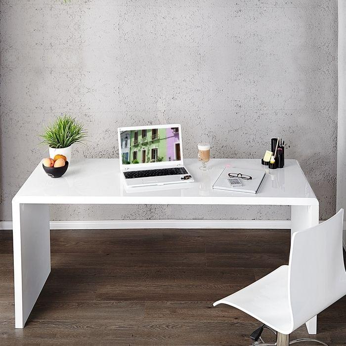 schreibtisch soho wei hochglanz 120cm portofrei g nstig online bestellen cag onlineshop. Black Bedroom Furniture Sets. Home Design Ideas