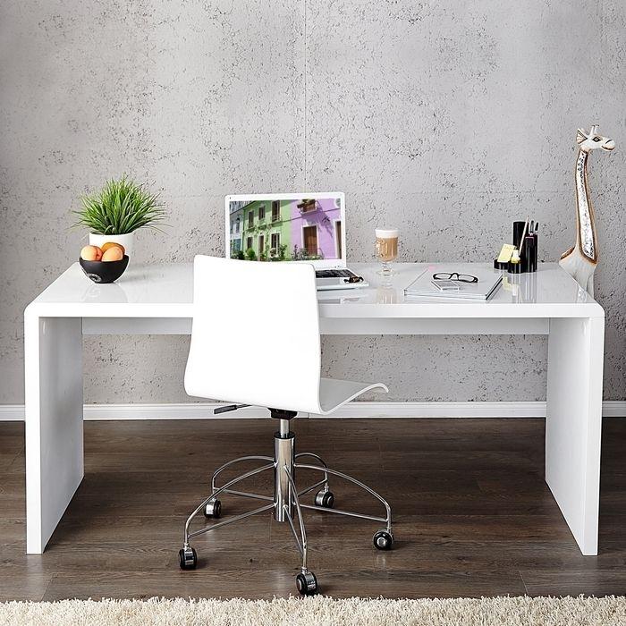 schreibtisch soho wei hochglanz 120cm portofrei g nstig. Black Bedroom Furniture Sets. Home Design Ideas