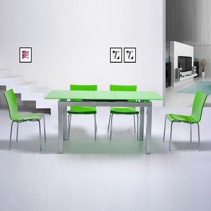 Design esstisch glas ausziehbar die neueste innovation for Esstisch lang
