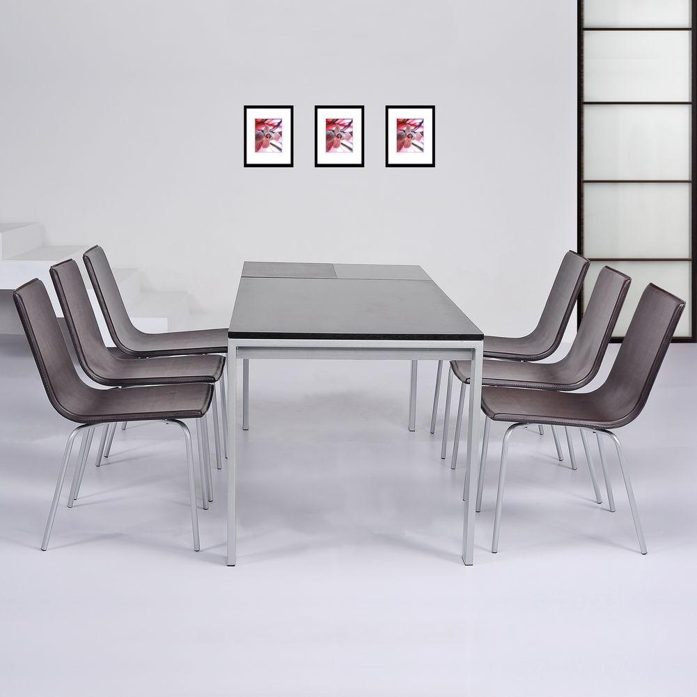 stuhl viena braun kunstleder cag onlineshop. Black Bedroom Furniture Sets. Home Design Ideas