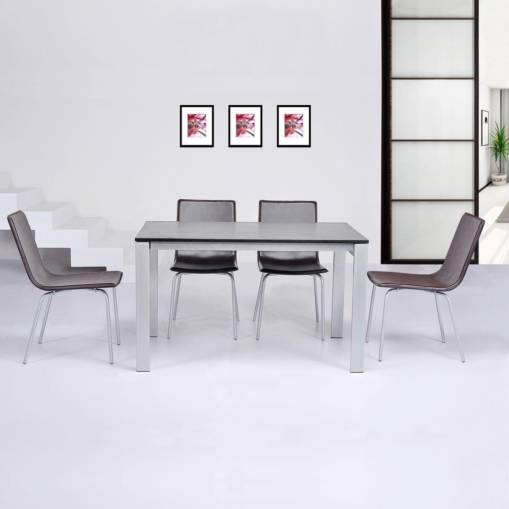 stuhl viena braun kunstleder cag onlineshop designerm bel versandkostenfrei kaufen. Black Bedroom Furniture Sets. Home Design Ideas