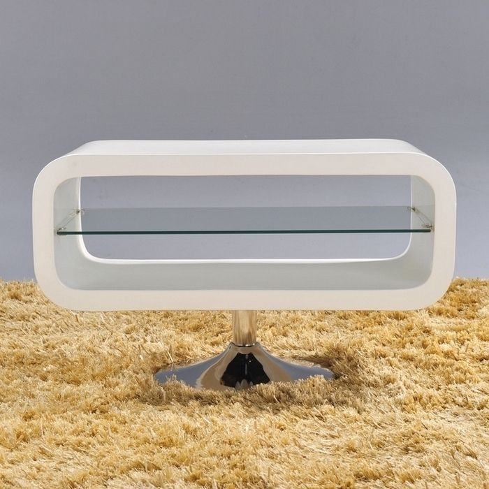 designer tv tisch fernsehtisch coop weiss hochglanz high gloss 80cm neu ebay. Black Bedroom Furniture Sets. Home Design Ideas