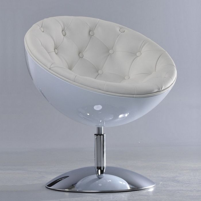 Loungesessel weiß  DESIGN RETRO LOUNGE SESSEL COCKTAILSESSEL CLUBSESSEL [STOCKHOLM ...