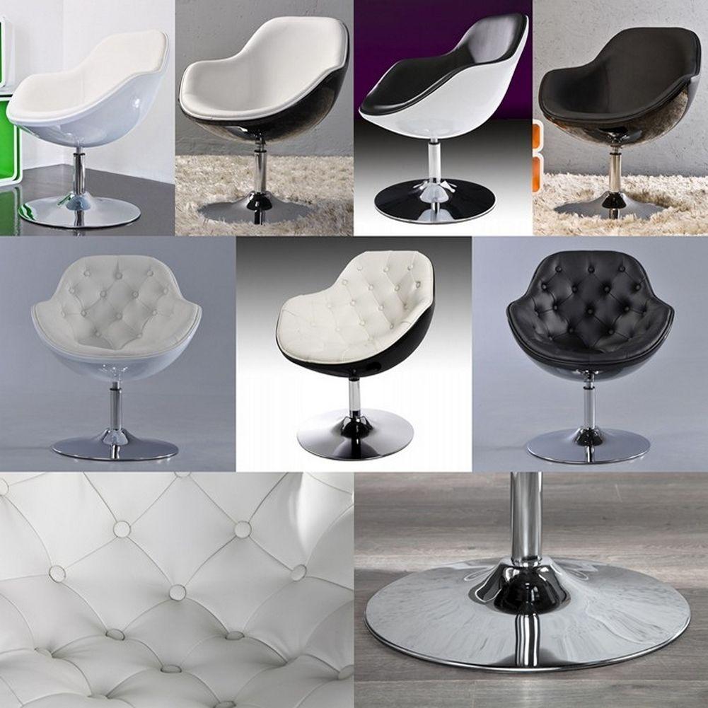 Lounge sessel retro schwarz  Designer Retro Lounge Sessel Cocktailsessel KOPENHAGEN Schwarz ...