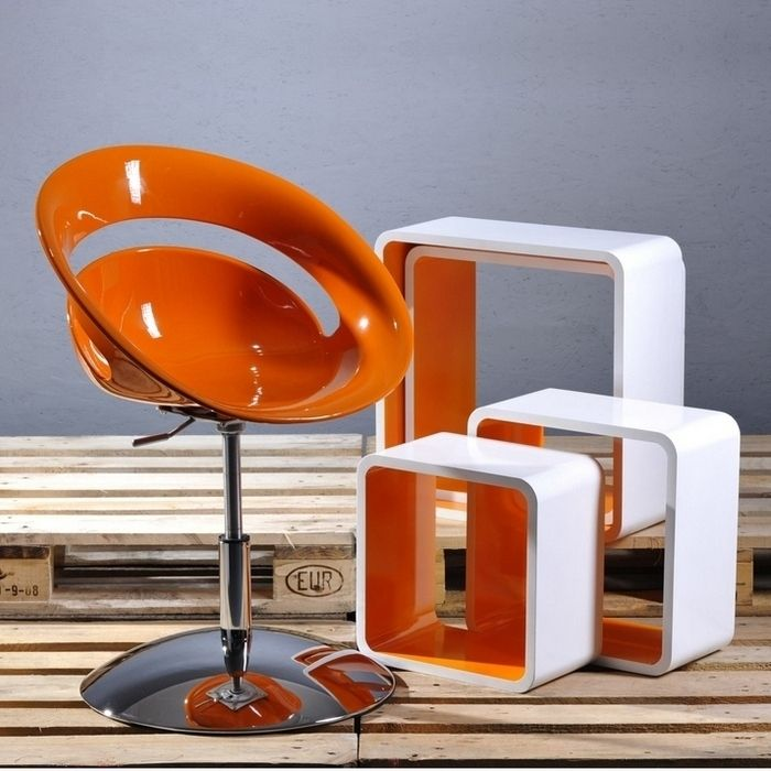 designer retro lounge sessel cocktailsessel clubsessel bodo orange neu ebay. Black Bedroom Furniture Sets. Home Design Ideas