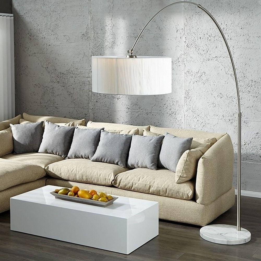 design bogenlampe luma wei 205 225cm h he portofrei g nstig online bestellen cag onlineshop. Black Bedroom Furniture Sets. Home Design Ideas