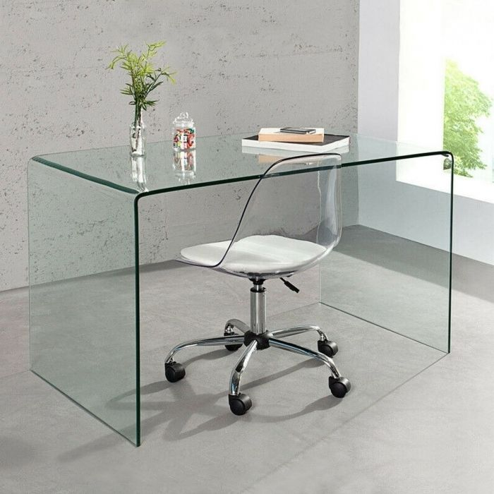 Design glasschreibtisch schreibtisch laptoptisch mayfair for Design laptoptisch