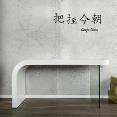 Schreibtisch weiß hochglanz glas  Schreibtische & Rollcontainer PORTOFREI günstig online kaufen ...